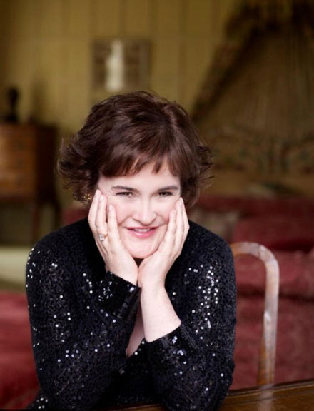 Susan Boyle is voted Favorite New Face by Parade's Summer Pop Culture Poll
