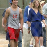 Taylor Swift is Taylor Lautner's V-day date