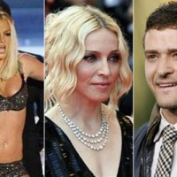 Threesome: Madonna, Britney and Justin
