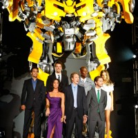 Transformers: Revenge Of The Fallen glam premiere