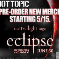 Twilight Eclipse Pre-Sale at HotTopic.com!