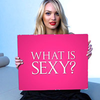 Victoria's Secret 'What is Sexy?' List 2012