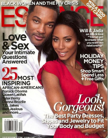 Will Smith Jada Pinkett Smith Essence cover 2008