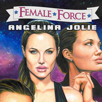 Female Force: Angelina Jolie is a comic book star