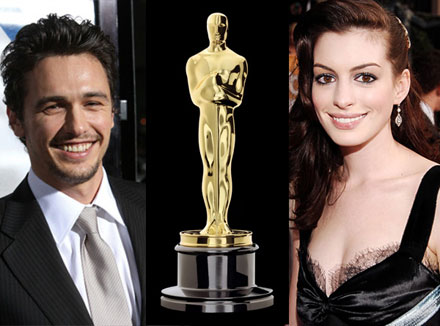 Anne Hathaway and James Franco co-host Oscars 2011