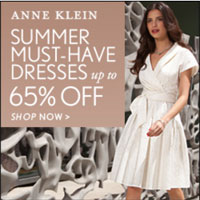 SALE: Anne Klein Dresses &#038; Shoes up to 65% off + Free Shipping!
