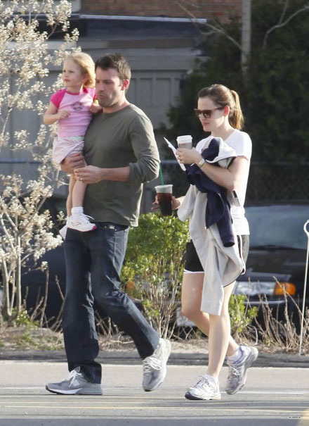 Famous celebrity godparents and godchildren - Jennifer Garner and Ben Affleck
