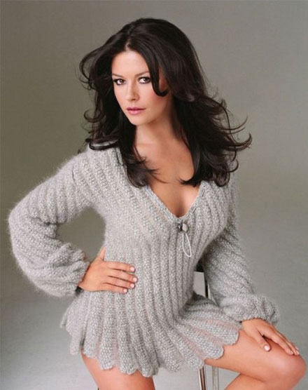 Catherine Zeta-Jones used to work as a stripper