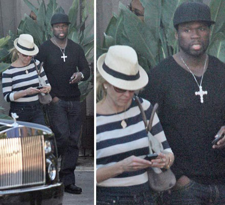 50 Cent and Chelsea Handler is the hottest celebrity couple 2010
