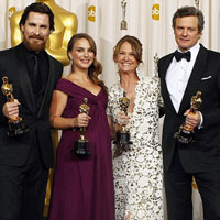 Oscar winners 2011: The Kings Speech tops the list