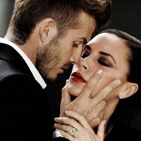 Intimately Yours: The Beckhams show their love on camera