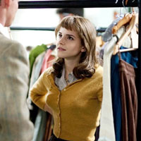 Retro Brunette: Emma Watson in My Week With Marilyn