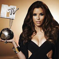 2010 MTV EMA host  Eva Longoria!