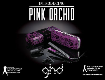introducing the new pink orchid from ghd