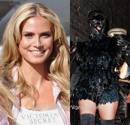 Heidi Klum will dress up in an 8 feet-high costume for Halloween 2010