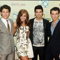 Jonas Brothers, Demi Lovato premiere 'Camp Rock 2: The Final Jam' in New York