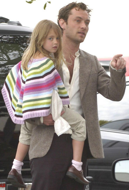 Famous celebrity godparents and godchildren - Jude Law
