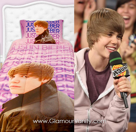 Justin Bieber designer bedding line