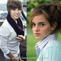 Justin Bieber has a crush on Emma Watson!