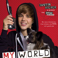 Justin Bieber and his pooch look adorable in the new PETA ad