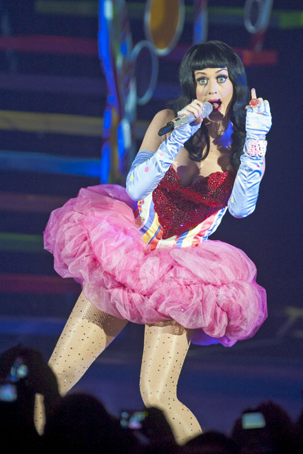 Katy Perry performs at 2011 The California Dreams Tour
