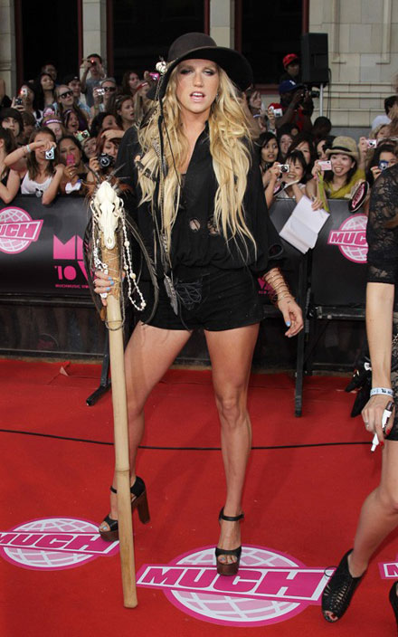 Ke$ha at 2010 MuchMusic Video Awards