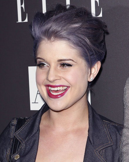 Purple-haired Kelly Osbourne makes big screen debut in 'Should of Been Romeo'