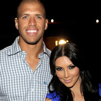 Back on the market: Kim Kardashian splits with Miles Austin