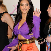 Purple &#038; orange: Celebrities that love the color blocking trend
