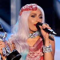 Lady GaGa explains the meat dress from 2010 MTV VMAs