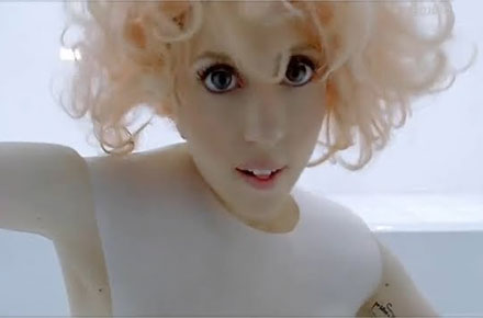 Lady GaGa is slammed for using contact lenses in the 'Bad Romance' video