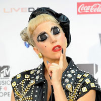 Lady GaGa revives Bad Romance big eyes for MTV Video Music Aid Japan