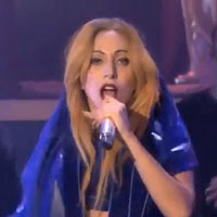 Lady GaGas world premiere performance of Judas on Ellen