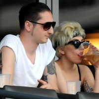 Lady GaGa is back with boyfriend Luc Carl