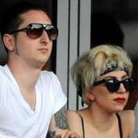 Committed: Lady GaGa, boyfriend Luc Calr are sort of married