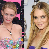 British model Lydia Hearst will play Lindsay Lohan in new comedy