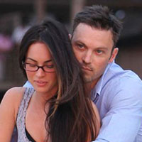 First photos: New husband and wife Megan Fox and Brian Austin Green