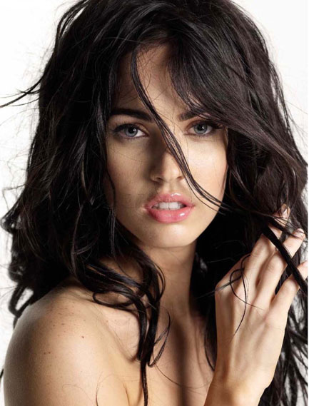 Megan Fox is a new face of Giorgio Armani Cosmetics