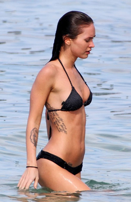 Megan Fox's hot bikini body