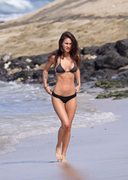 Megan Fox's body in Hawaii