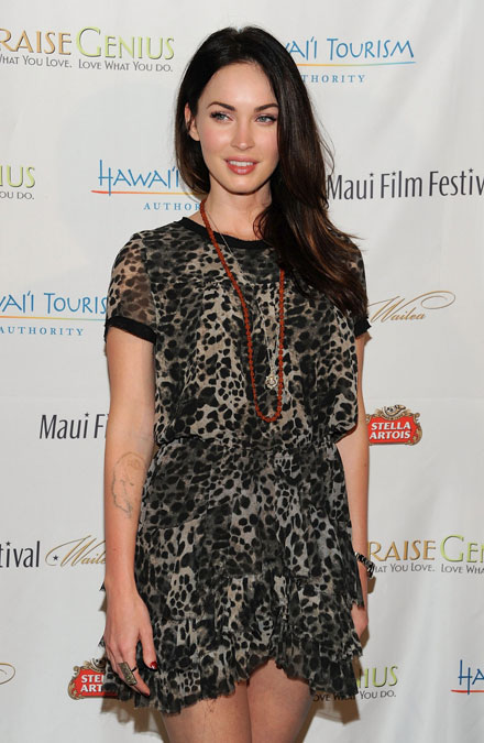 Megan Fox joins Sacha Baron Cohen in 'The Dictator'