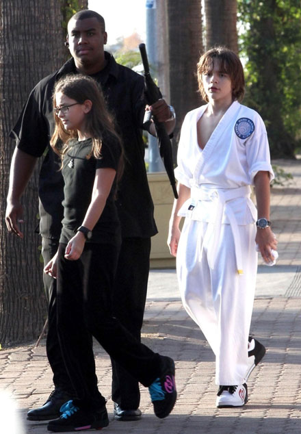 Famous celebrity godparents and godchildren - Michael Jackson's kids
