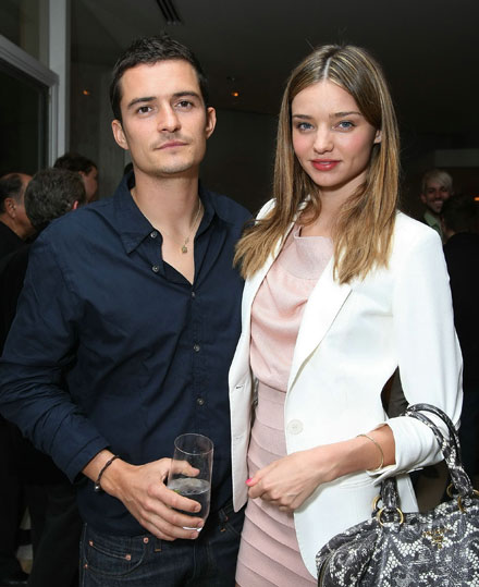 Miranda Kerr is engaged to Orlando Bloom