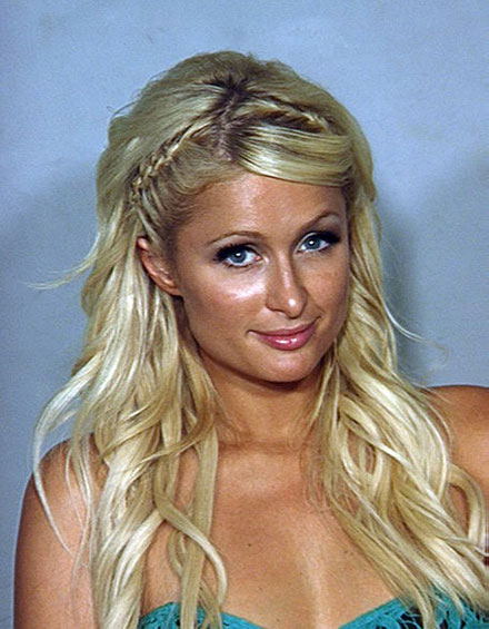 Paris Hilton's mugshot 2010 - cocaine possession charge