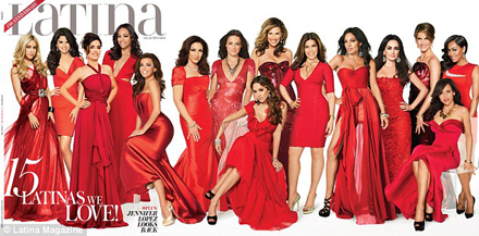 Salma Hayek, Jessica Alba, Rosario Dawson and Other Gorgeous Stars Cover Latina Magazine