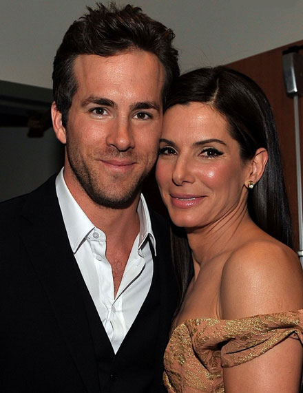 Sandra Bullock and Ryan Reynolds spent New Year's Eve together