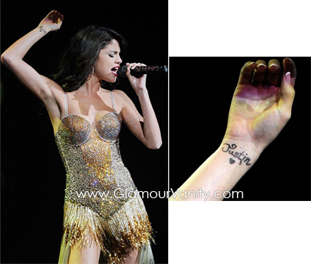 Selena Gomez's Wrist 