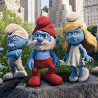 Trailer Time  The Smurfs looks adorable in 3D
