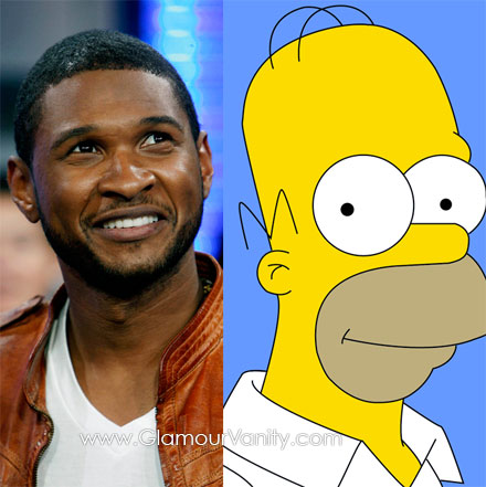 Usher has ripped off Homer Simspon's song