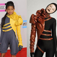 Willow Smith&#8217;s 2010 AMA outfit is a designer rip-off